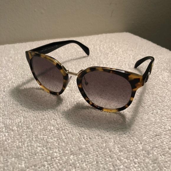 bae3d28172b Prada Crazy Daisies Medium Havana Sunglasses. M 5b7a2880129955985849b7af